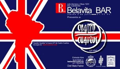 Belavita_BAR - 03 Junio CUATRO CUARTOS